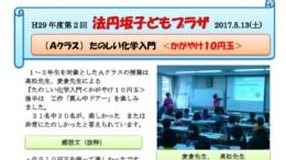 第2回法円坂子供プラザ(20170513)原子が見えたなら、輝け10円玉のサムネイル