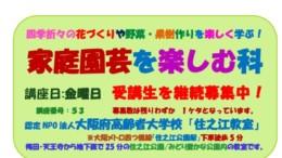 2019募集チラシ(家庭園芸を楽しむ科)修正12月19日のサムネイル