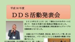 2019年2月12日DDS発表HP用のサムネイル
